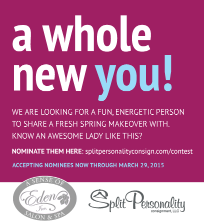 Spring Makeover - Split Personality Consignment & A Sense of Eden Salon & Spa